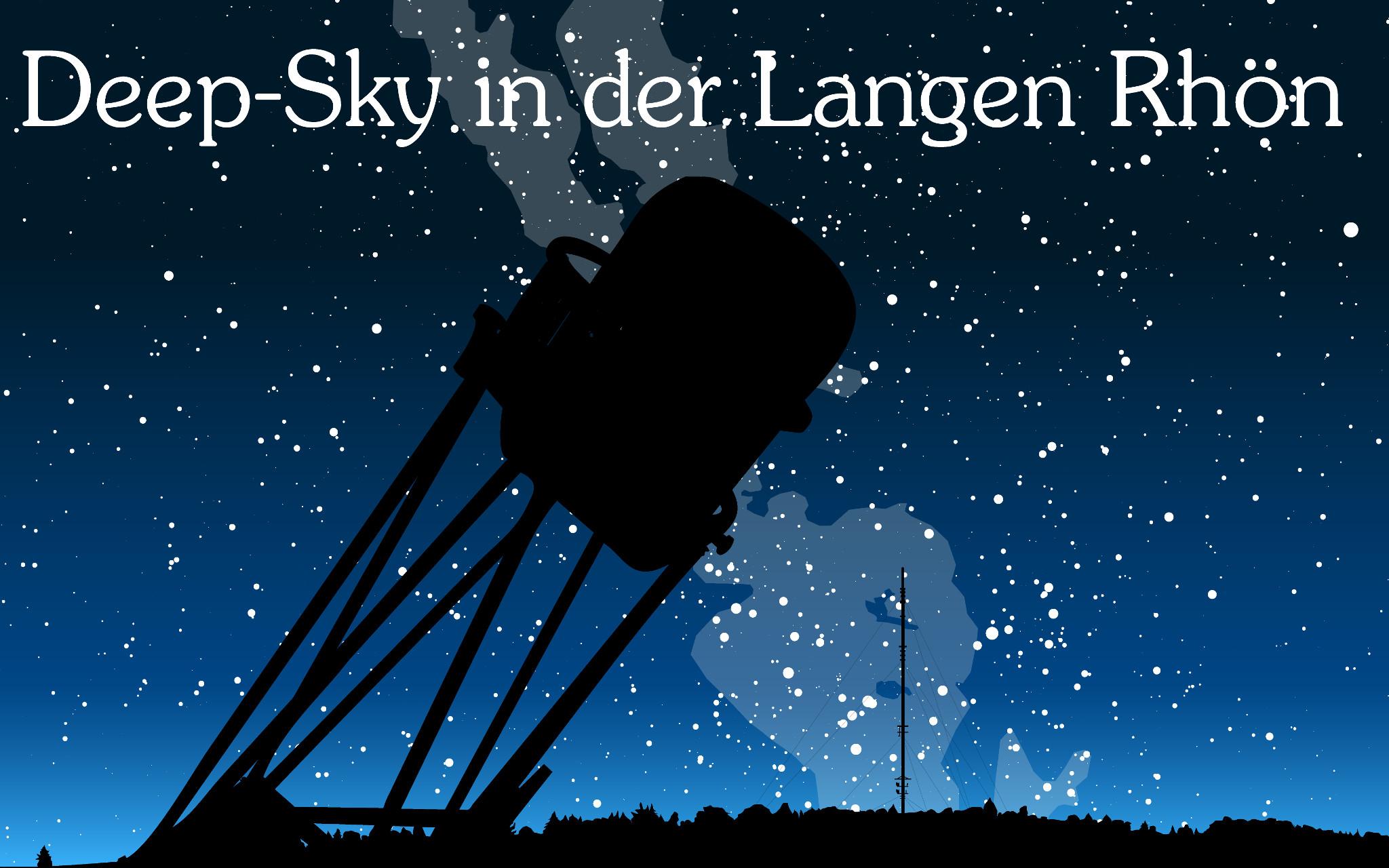 Das nächtliche Firmament über dem Sternenpark Rhön in der Hochrhön mit anschließender Deepsky-Beobachtung