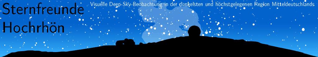 Astronomie im Sternenpark Rhön mit Deepsky-Objekten