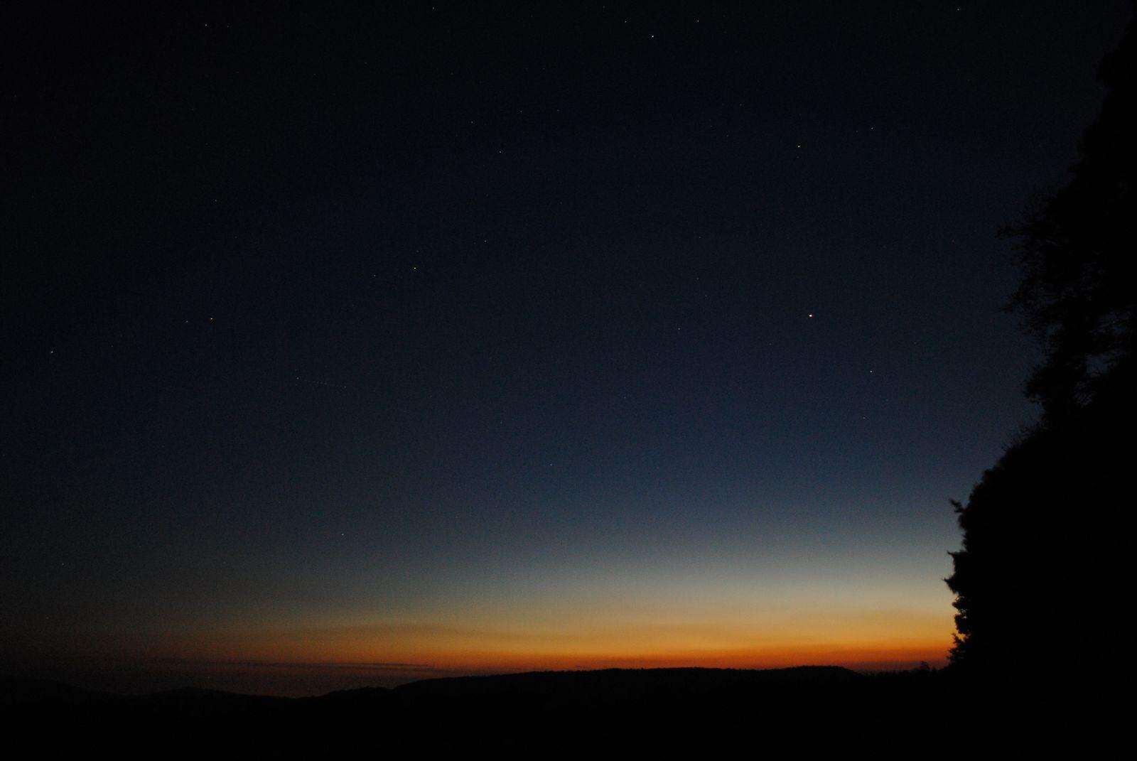 Astronomie auf der Wasserkuppe in der Rhön
