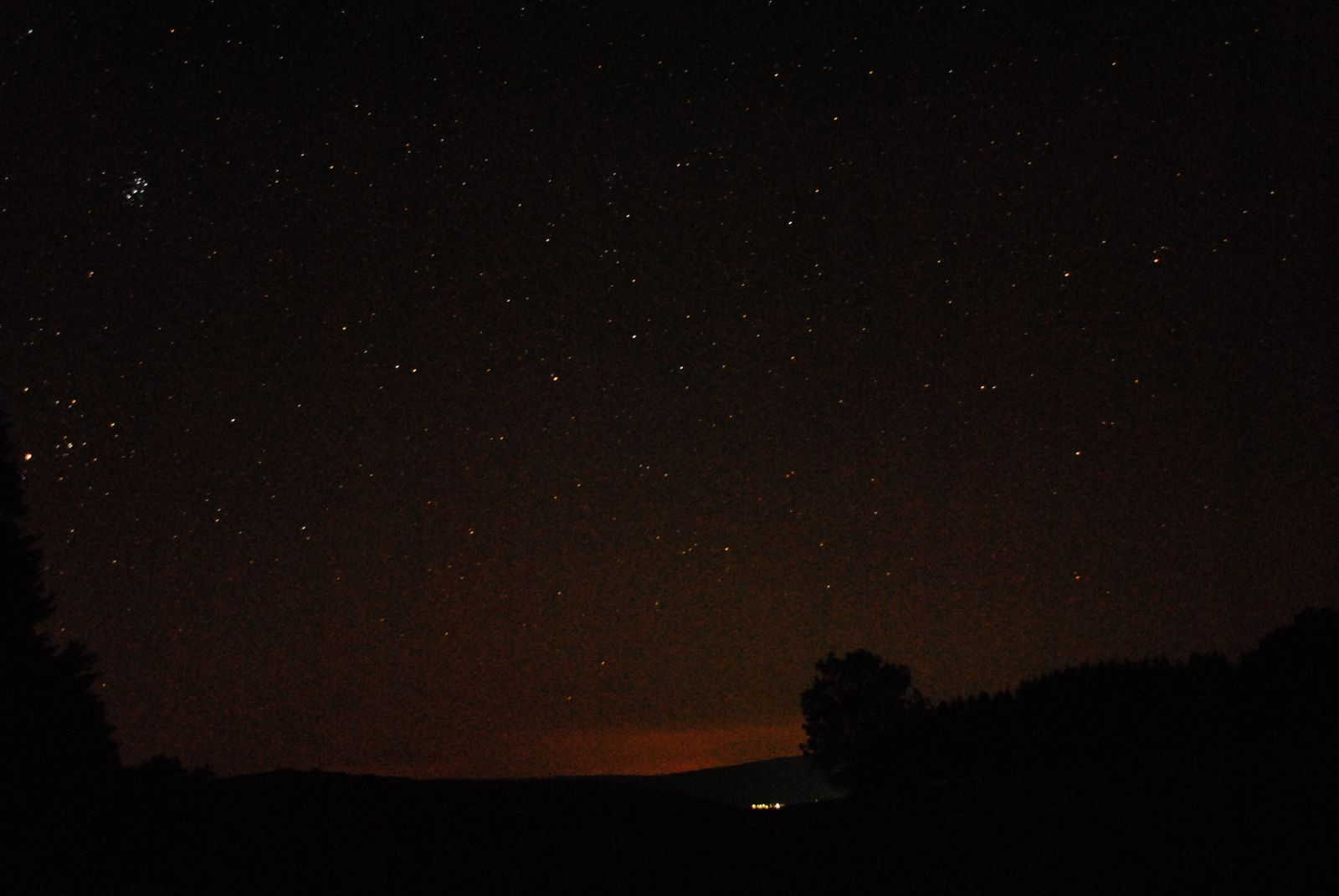 Astronomie nahe Tann in der Rhön