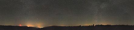 Astronomie Dämmerung Milchstraßenwolken Astrofotografie Josser-Rain Sternenhimmel Deep-Sky Herbststernbilder Firmament Nachthimmel Rimberg Breitenbach am Herzberg Burg Herzberg Grebenau Niederaula Alsfeld