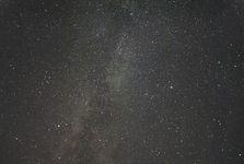 Merkur Hochplateau des Feuerbergs M 82 Heidelstein Fladungen rsa-Major-Strom Landhimmel Abend Biosphärenreservat Rhön