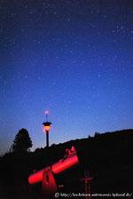 Beobachtungsplätze im Hochknüll Wilsberg Semmelberg Ottrau Astrofotografie Visuelle Astronomie Welcherod Deepsky Sternfeld Sternbilder Vockenrod