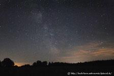 Milchstraße Heiligenberg Visuelle Astronomie NGC 3079 Efze Kirschenwald Mündershausen Semmelberg Beobachtungsplätze im Hochknüll Ziegenhain Astrofotografie Beobachtung Sternfeld Milchstraße