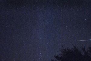 Perseiden 2015 Sternschnuppen Rhön