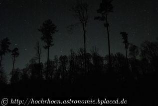 Deep Sky Beobachtungsplaetze Pfälzerwald Dobson Grenzgroesse Lambrecht Neustadt an der Weinstrasse Bad Duerkheim