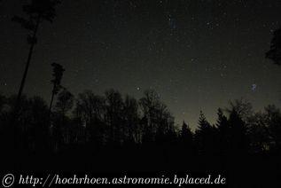 Deep Sky Beobachtungsplaetze Pfälzerwald Teleskop Milchstrasse Bad Bergzabern Annweiler Dahn Pirmasens
