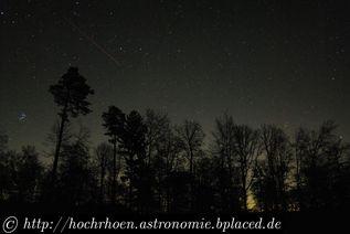 Deep Sky Beobachtungsplaetze Pfälzerwald SQM Astrofotografie Kaiserslautern Trippstadt