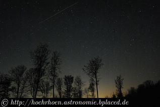 Deep Sky Beobachtungsplaetze Pfälzerwald Teleskop Milchstrasse Waldleiningen