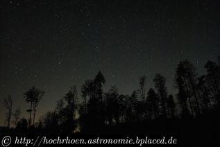 Beobachtungsplatz Visuelle Astronomie Pfälzerwald Dobson Grenzgroesse Hofstaetten