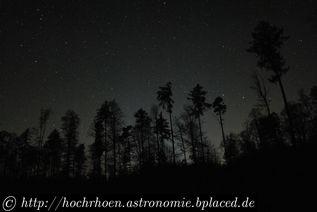 Beobachtungsplatz Visuelle Astronomie Pfälzerwald Teleskop Milchstrasse Elmstein Iggelbach Taubensuhl
