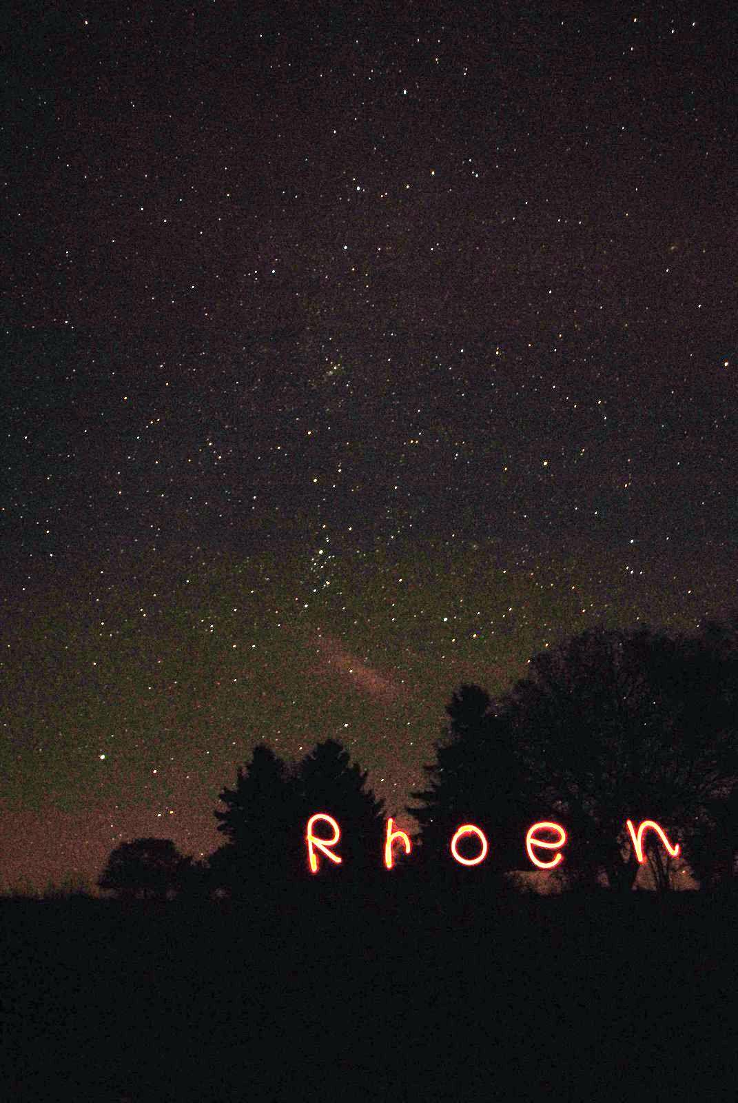 Sternfeldaufnahme und Sternbilder Deepsky Astrofotografie an der Hochrhönstraße im Sternenpark Rhön