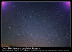 Deep-Sky Astrofotografie Hermannskoppe Spessart