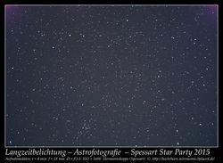 Astrofotografie Himmelsbeobachtung Deep-Sky Spessart 2015 Hermannskoppe