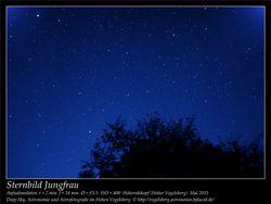 Sternbild Jungfrau Aufnahmeort Hoherodskopf Hoher Vogelsberg Deep-Sky, Astronomie und Astrofotografie im Hohen Vogelsberg